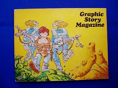 Graphic Story Magazine 10; 1969 Vaughn Bode 'The Man', & 'The Machines'. FN+.