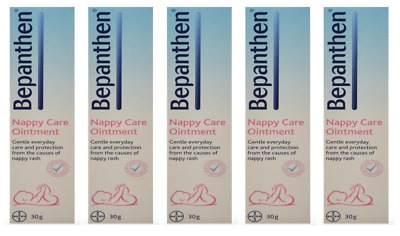 5 x BEPANTHEN 30g Nappy Care Ointment