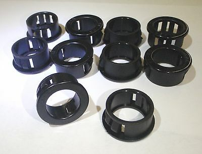 """10 PC HARNESS CABLE HOSE PROTECTOR SNAP BUSHING 1/2"""" GROMMET 12mm"""