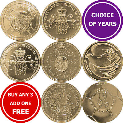 Decimal £2 Two Pound Commemorative Coins - Choose Year
