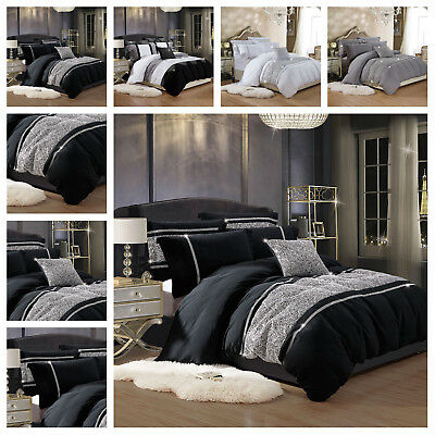Duvet Cover with Pillowcase Quilt Cover Super Soft Bedding Sets Double King Size