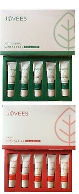 JOVEES Anti Ageing And Fruit Facial Kit For  Nourishing SkinCleanser Scrub Pack
