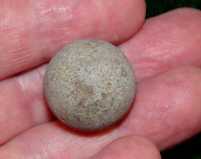 Beautiful Native American Indian Game Stone Approximately 1""