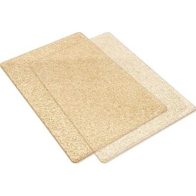 Sizzix Big Shot Cutting Pads 1 Pair - Clear w/GOLD Glitter - Standard