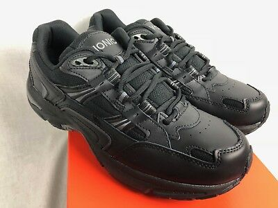 aa0afad2dca2 New Vionic Mens Walker Sneaker Black Athletic Orthotic Support Free Ship