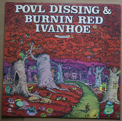 Povl Dissing & Burnin Red Ivanhoe (Vinyl LP, 1971)