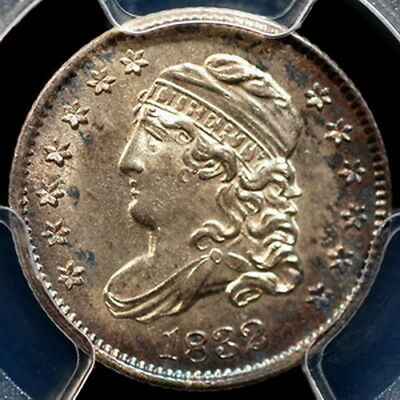1832 Capped Bust Half Dime  PCGS MS64
