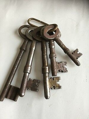 Antique bunch of keys.