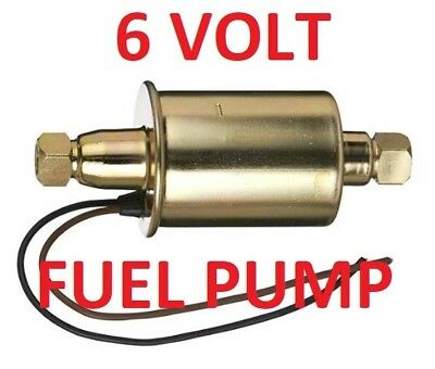 6 Volt Electric Fuel Pump ( Primary or Support pump to the mechanical)