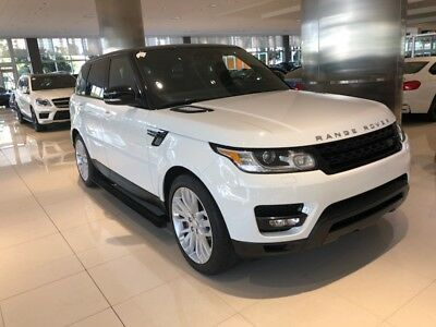 2014 Land Rover Range Rover Sport Supercharged 2014 Like New Range Rover Sport Fully Loaded Supercharged Extended Warranty