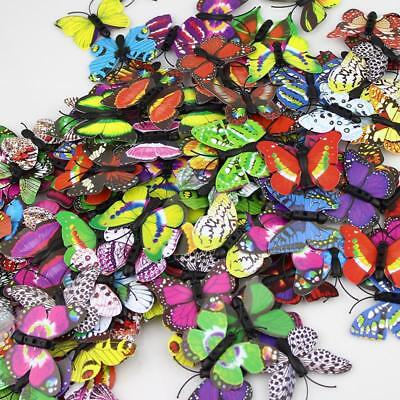 Simulation Butterfly 3D Stickers Party Decor Home Crafts Holiday Wedding