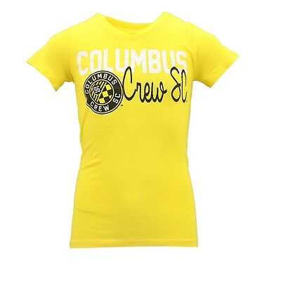 8c267c1be263 Columbus Crew SC MLS Official Apparel Kids Youth Girls Size T-Shirt New Tags