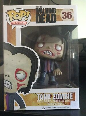 Funko Pop Tank Zombie 36 The Walking Dead Vinyl Figure