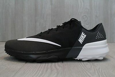 29 NEW Nike Flex Mens Golf Shoes Spikeless Black White Anthracite 849960 001 13