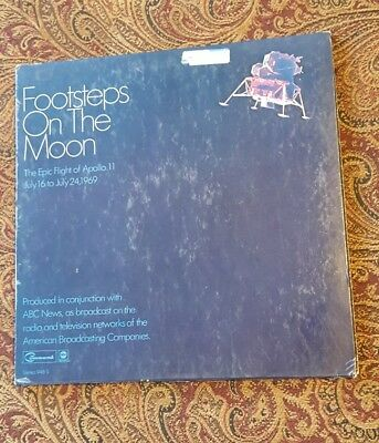 Various ‎– Footsteps On The Moon: The Epic Flight Of Apollo 11, July 16 To July