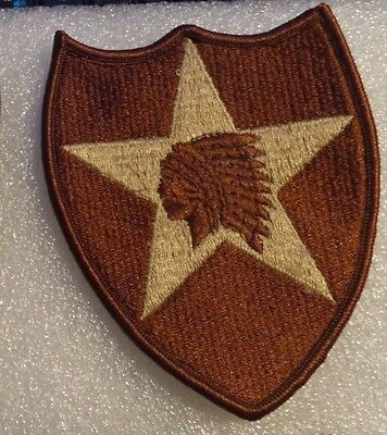 ARMY PATCH, SSI, 2nd INFANTRY DIVISION , DESERT, DCU, DBDU