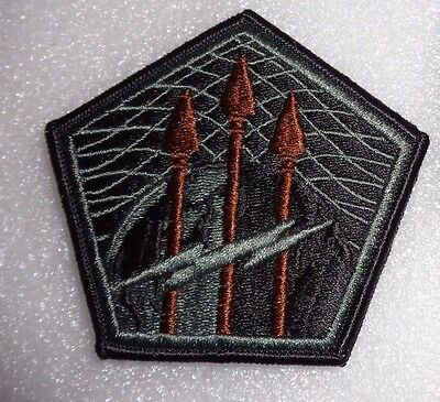 Army Patch,ssi, United States Cyber Command, Acu, With Hook Loop Fastener
