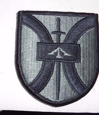Army Patch,916Th Support Brigade , Acu, With Hook Loop
