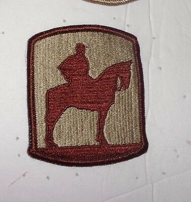 Army Patch 116Th Infantry Brigade Combat Team, Reverse Combat Side, Desert
