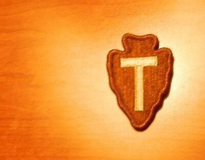 Army Patch,ssi, Desert Tan, Dcu. 36Th Infantry Division