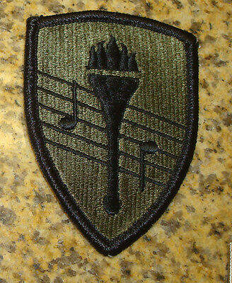 ARMY SCHOOL OF MUSIC,OBSOLETE, od, olive drab patch