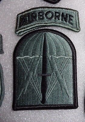 Army Patch,ssi, 528Th Sustainment Brigade (Abn)(So), Acu, With Hook Loop