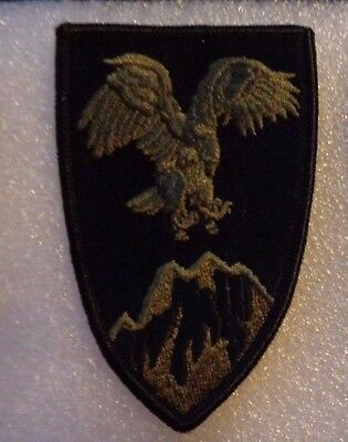 Army Patch, Combined Forces Command-Afghanistan, Od Green