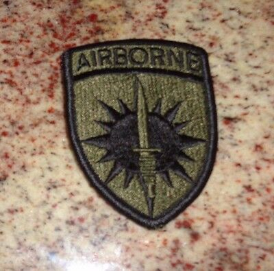 U.s.army. Patch, Special Operations Command Pacific, Bdu, O.d. Green