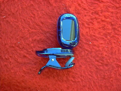 """CLOSE OUT SALE""  Fender FT-1620 Blue California Clear Chromatic Tuner"