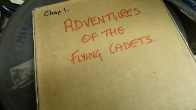 Old 16 Mm Film  The Adventures Of The Flying Cadets 13 Reels