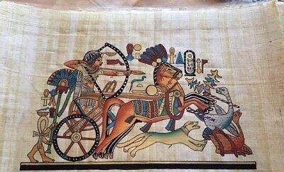 Handmade papyrus paper from Egypt