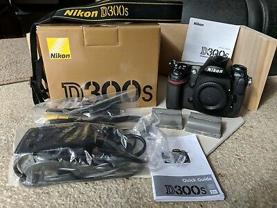 Nikon D300S 12.3MP Digital SLR - body only - great condition