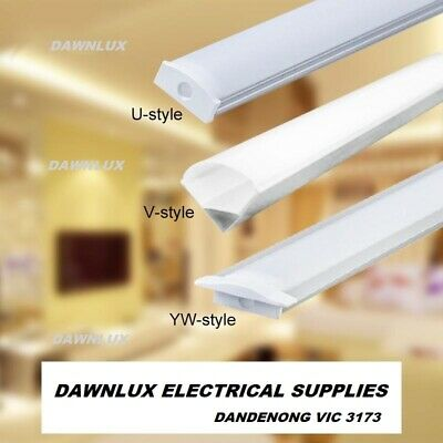 5X1.0M Aluminium LED Strip Light Channel Profile