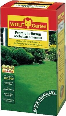 Premium - Grass Shadow & Sun LP 10 Lawn Seed for 10 Square Metres of Wolf Garten
