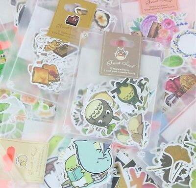 Super Cute Kawaii Stickers Diary Label Gudetama Lazy Egg Cats Scrapbook Craft