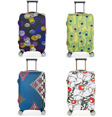 "18""-32"" Elastic Luggage Protector Travel Protective Suitcase Dustproof Cover Bag"