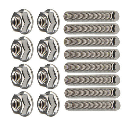 Exhaust Manifold Stud Assembly Bolts Kit for Ford 4.6 5.4 Liter V8 F-150 250 350