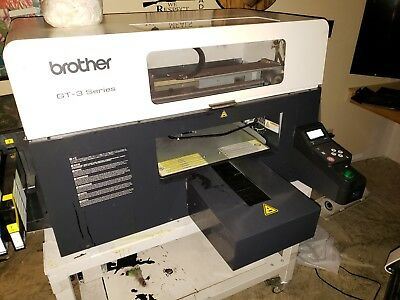 Brother GT-381 DTG Printer and ViperOne pretreatment machine