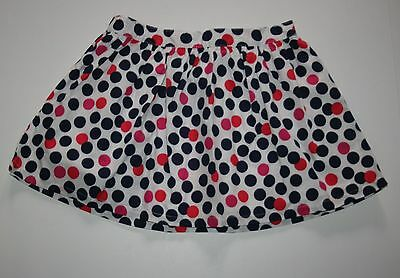 New Gymboree Colorful Dots Elastic Waist Skirt Size 4T NWT Ciao Puppy Line