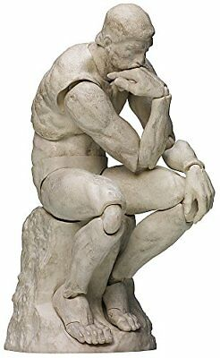 figma SP-056b The Table Museum The Thinker Plaster ver. Figure NEW from Japan