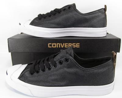 fb678ac32e20 Converse Jack Purcell JP JACK OX Low Top Sneaker BLACK Lunarlon Sole 151483C