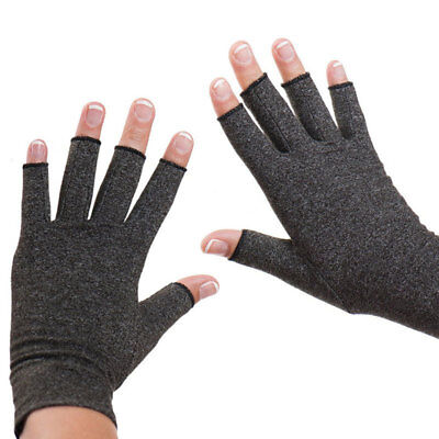Anti Arthritis Copper Fingerless Gloves Compression Therapy Improves'Circulation