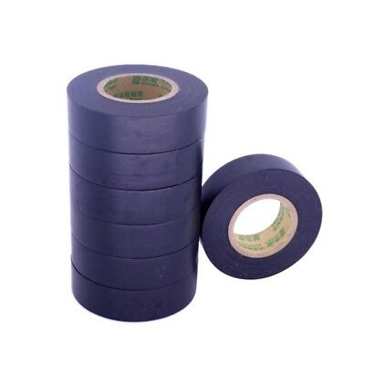 1Pc Black Harness Tape Adhesive PVC Fabric Cable Looms Car Wiring Auto Tools 18M