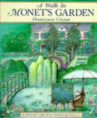 A Walk in Monet's Garden by Crespi, Francesca Paperback Book The Cheap Fast Free