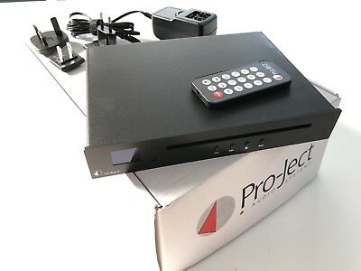 Project CD Box S Black Pro-Ject Player Audio Systems Compact Slimline Black