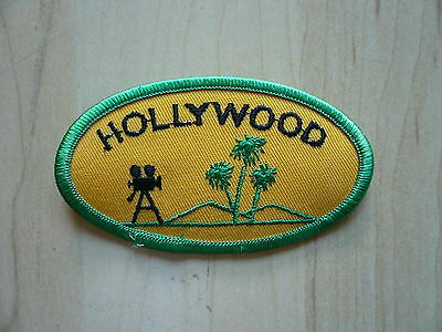 Hollywood / Aufnäher Patch aus USA