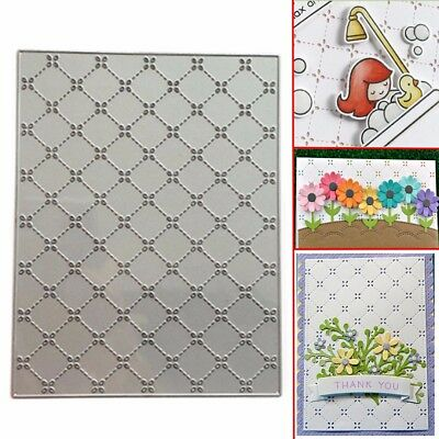 Grid Background Metall Scrapbooking Präge Schablonen Stanzschablone Stanzformen