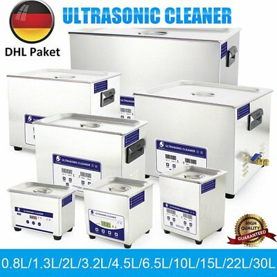 0,8-30L Ultraschallreinigungsgerät Ultraschallreiniger Ultrasonic Cleaner + Korb