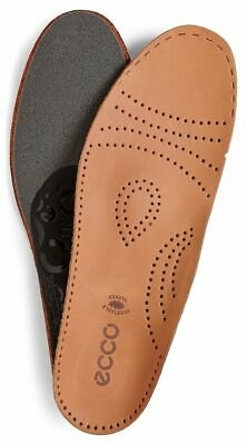 Ecco Mens Everyday Support Arch Support Leather Insoles
