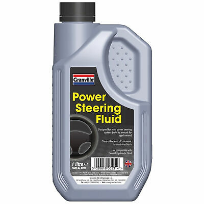 Granville Power Steering Fluid Synthetic Oil Based Hydraulic Lubricant 1 Litre
